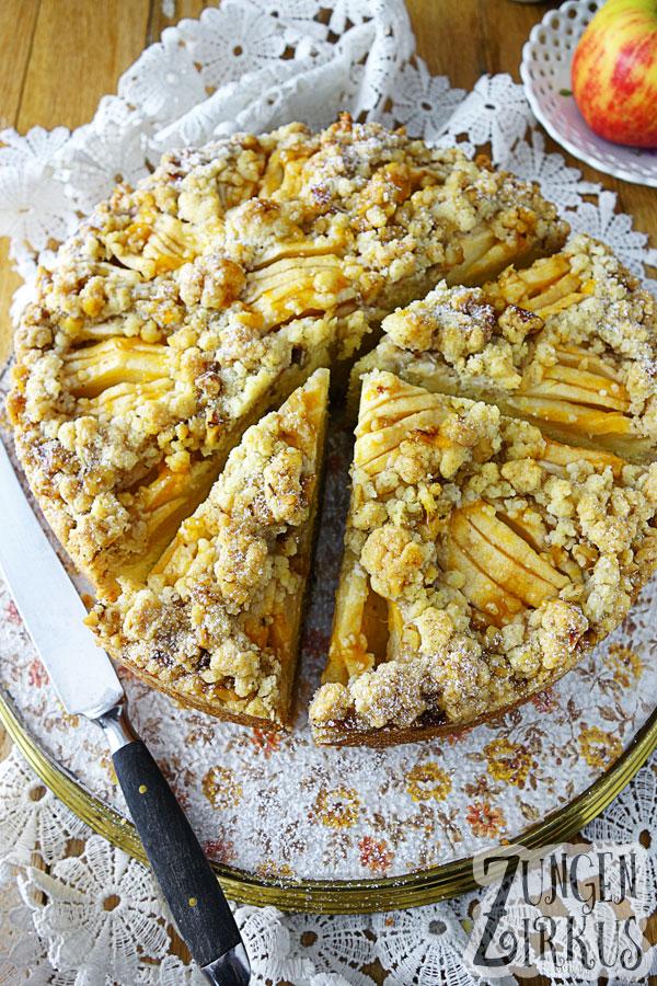 Apfelkuchen - lecker und einfach