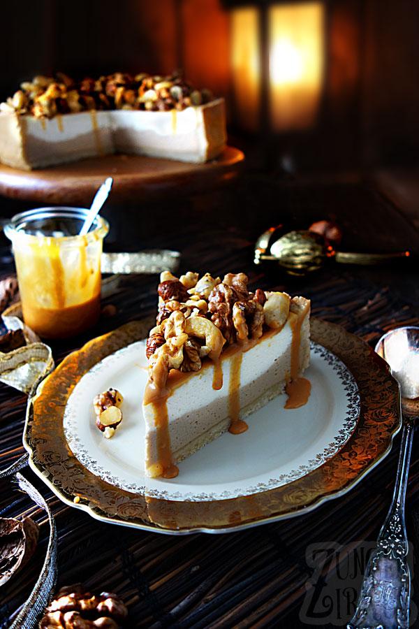 Karamellkäsekuchen - Karamellkuchen