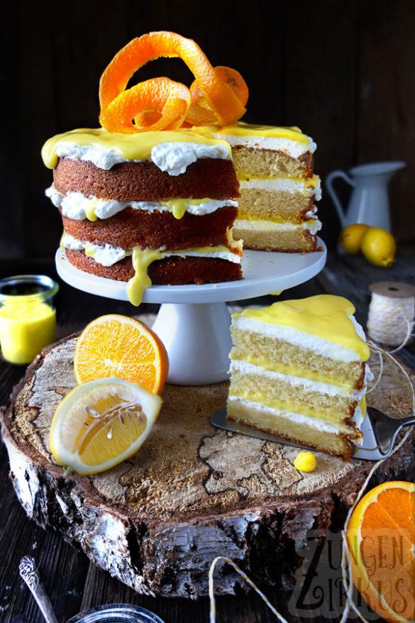 Orangenkuchen Orangentorte
