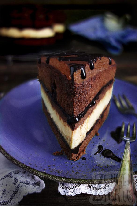Schokokäsetorte Cheesecake Chocolate