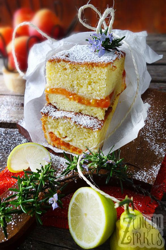Zitronenkuchen saftig