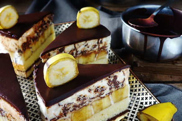 Bananentorte / Bananasplit