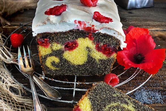 Marmorkuchen Mohnkuchen