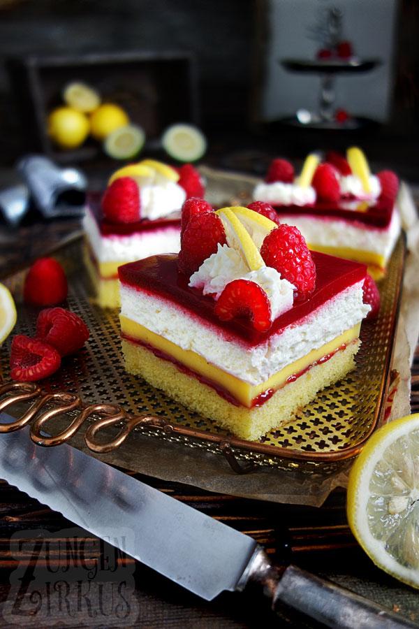 Puddingschnitten Puddingkuchen