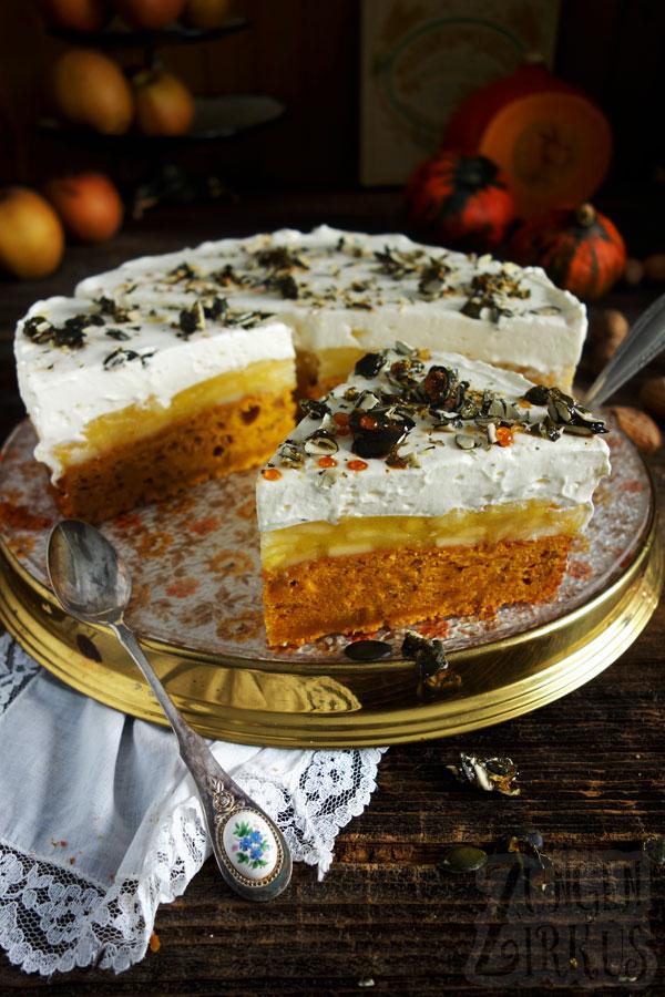 Kürbiskuchen Herbstkuchen
