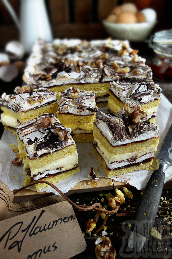 Schokobaiser-Kuchen Baiserkuchen