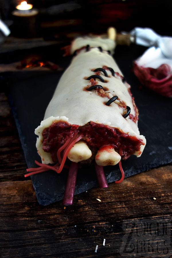 Halloweenkuchen eklig, aber lecker