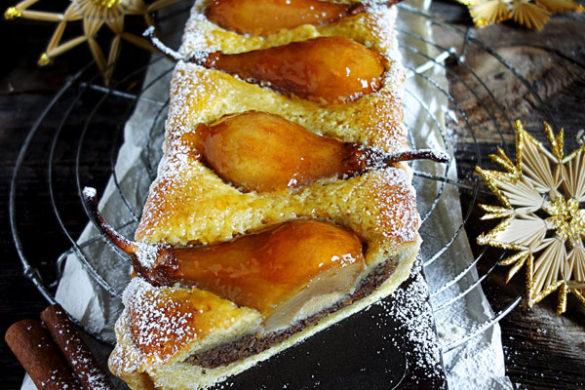 Lebkuchen-Tarte Weihnachtskuchen