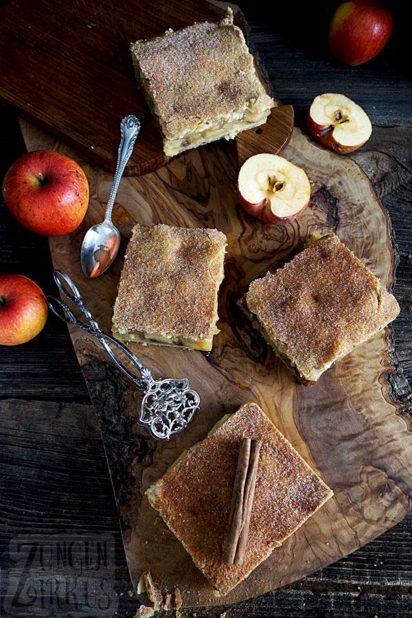 Gedeckter Apfelkuchen einmal anders