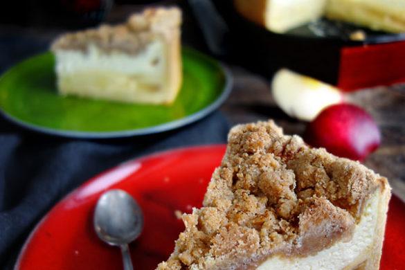 Apfelkäsekuchen Käsekuchen Apfelkuchen