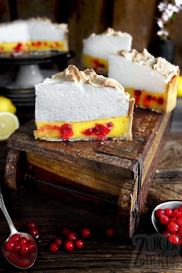 Lemon Pie mit Baiserhaube